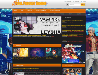 pixelperfectgaming.com screenshot