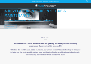 pixelprotector.com screenshot