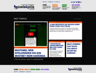 pixelsandpills.com screenshot