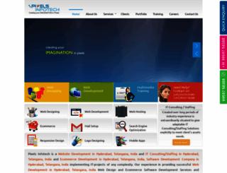 pixelsinfotech.com screenshot