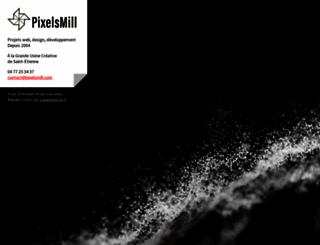 pixelsmill.com screenshot