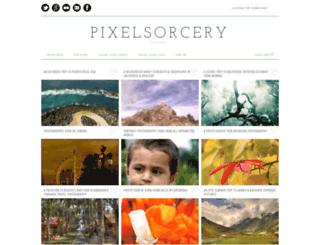 pixelsorcery.in screenshot