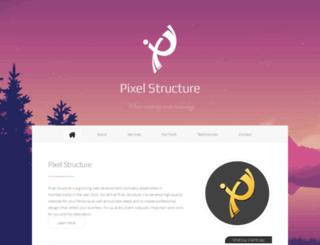 pixelstructure.in screenshot