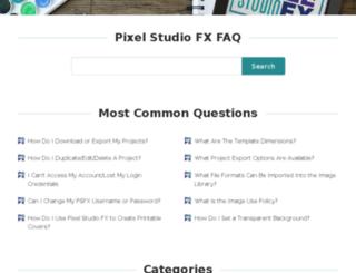 pixelstudiofx.helpscoutdocs.com screenshot