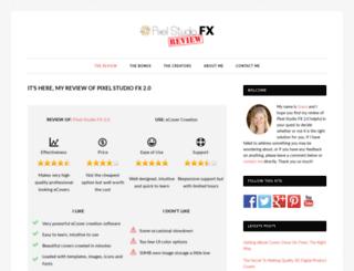 pixelstudiofxreview.net screenshot