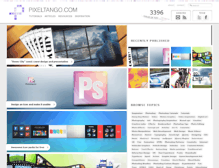 pixeltango.com screenshot