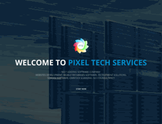 pixeltechservices.in screenshot