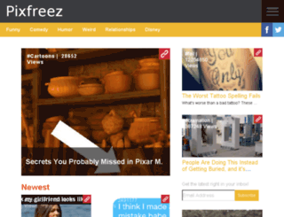pixfreez.com screenshot