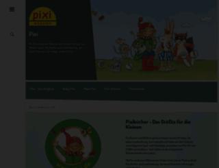 pixi.de screenshot