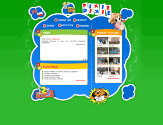 pixiedixiedaycare.com screenshot