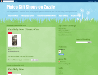 pixiesgiftshopsonzazzle.blogspot.co.uk screenshot