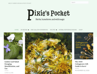 pixiespocket.com screenshot