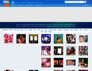 pixiz.com screenshot