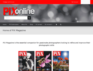 pixmag.co.za screenshot