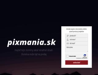 pixmania.sk screenshot