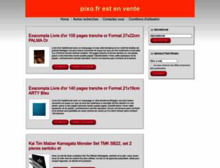 pixo.fr screenshot