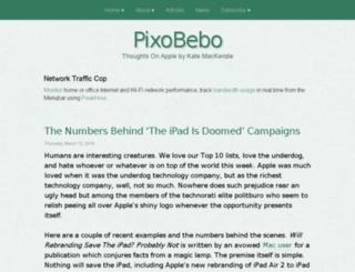 pixobebo.com screenshot