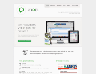 pixpel.com screenshot