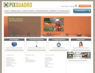 pixquadro.com screenshot