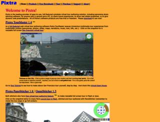 pixtra.com screenshot