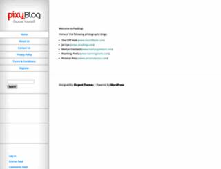 pixyblog.com screenshot