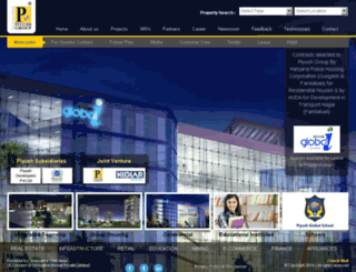 piyushgroup.com screenshot