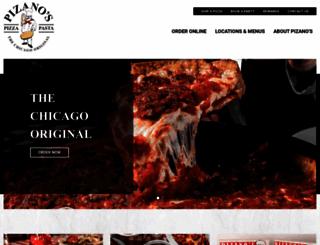 pizanoschicago.com screenshot