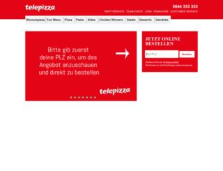 pizza-blitz.ch screenshot