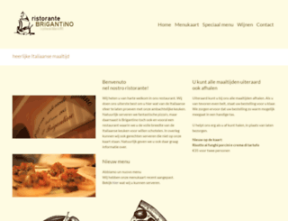 pizza-brigantino.nl screenshot
