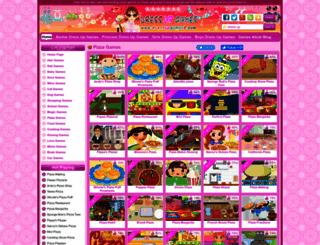 pizza-games.dressupgames8.com screenshot