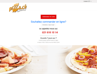 pizza.ch screenshot