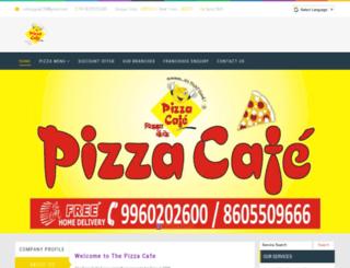 pizzaacafe.in screenshot