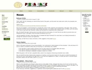 pizzagame.sourceforge.net screenshot