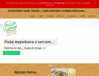 pizzagastro.pl screenshot