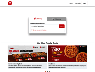 pizzahut.co.id screenshot