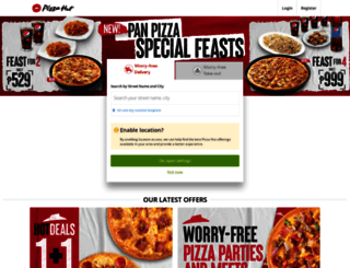 pizzahut.com.ph screenshot