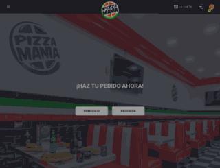 pizzamaniafuengirola.es screenshot