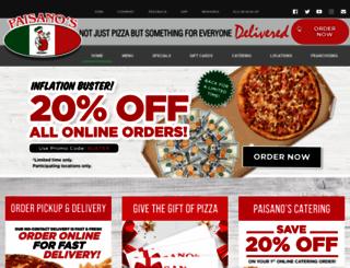 pizzapaisanos.com screenshot