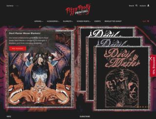 pizzapartyprinting.com screenshot