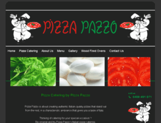 pizzapazzo.com.au screenshot