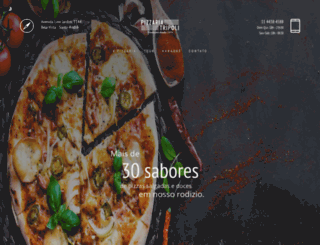 pizzariatripoli.com.br screenshot