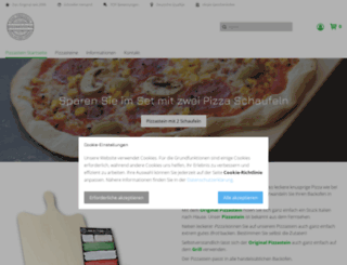 pizzastein.net screenshot