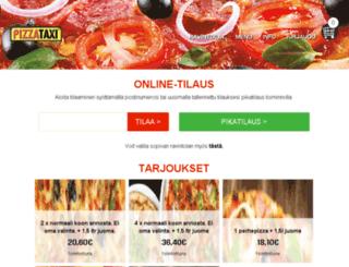 pizzataxi.fi screenshot