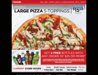 pizzaville.ca screenshot