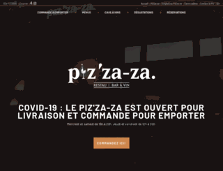 pizzaza.ca screenshot