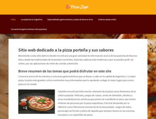 pizzazapi.com.ar screenshot