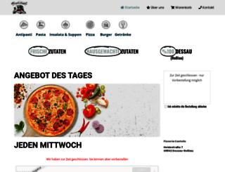 pizzeria-castello-dessau.de screenshot