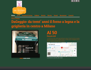 pizzeria50.com screenshot