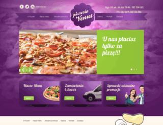 pizzeriavenus.pl screenshot