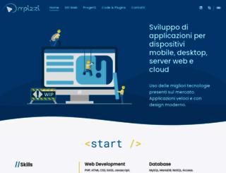 pizzuldev.com screenshot